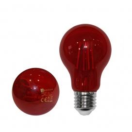 Λάμπα Led COG A60 6W E27 Κόκκινη (13-272162)
