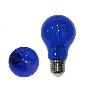 Λάμπα Led COG A60 6W E27 Μπλε (13-272164)