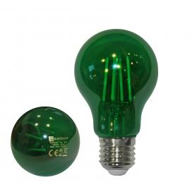 Λάμπα Led COG A60 6W E27 Πράσινη (13-272165)