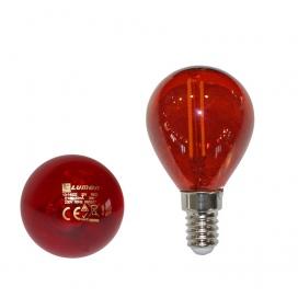 Λάμπα Led COG 2W E14 Κόκκινη (13-14022)
