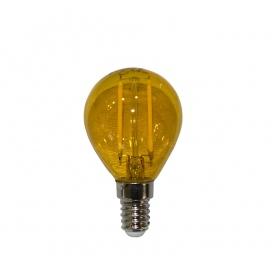 Λάμπα Led COG 2W E14 Πορτοκαλί (13-14023)