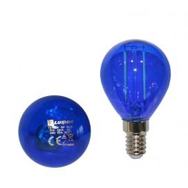 Λάμπα Led COG 2W E14 Μπλε (13-14024)