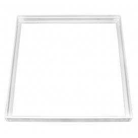 Πλαίσιο Αλουμινίου Λευκό για 60x60 Πάνελ (21-60601)