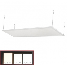 Led Panel 30x120 42W 120° 6300K Λευκό (21-1204200)