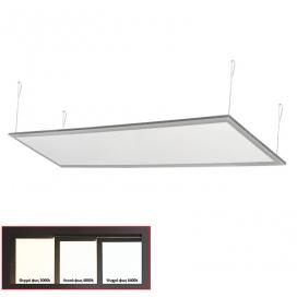 Led Panel 30x120 50W 120° 3000K Ασημί (21-12050600)