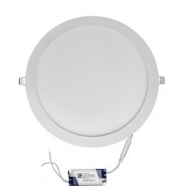 Led SMD slim panel Ø30 30W 120° 3000K Λευκό (21-0301000)