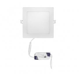Led SMD slim panel 17x17 12W 120° 4000K Λευκό (21-0122001)