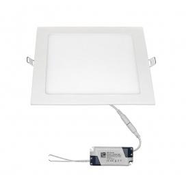 Led SMD slim panel 22x22 18W 120° 6300K Λευκό (21-0182000)