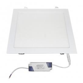 Led SMD slim panel 29.5x29.5 25W 120° 4000K Λευκό (21-0252001)