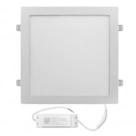 Led SMD slim panel 29.5x29.5 30W 120° 3000K Λευκό (21-0302100)