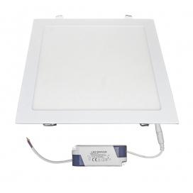Led SMD slim panel 29.5x29.5 30W 120° 4000K Λευκό (21-030211)