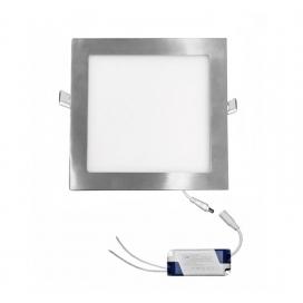 Led SMD slim panel 22x22 18W 120° 6300K Σατινέ (21-01820660)