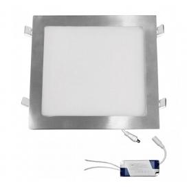 Led SMD slim panel 29.5x29.5 25W 120° 3000K Σατινέ (21-025206600)