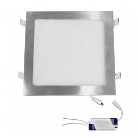 Led SMD slim panel 29.5x29.5 25W 120° 6300K Σατινέ (21-02520660)