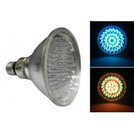 Λάμπα LED Τύπου Σκληράς Υάλου 3W PAR38 E27 42V RGB (14-381221)