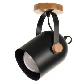 InLight Φωτιστικό Οροφής - Τοίχου Μαύρο (6133-1)
