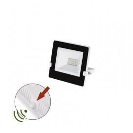 LED SMD Λευκός Προβολέας με Φωτοκύτταρο Ημέρας - Νύχτας 10W 120° 4000K (3-030101)