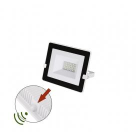 LED SMD Λευκός Προβολέας με Φωτοκύτταρο Ημέρας - Νύχτας 20W 120° 4000K (3-030201)