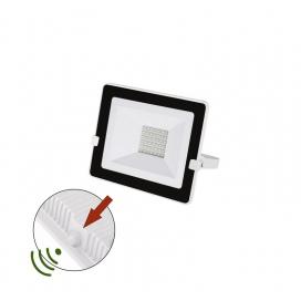 LED SMD Λευκός Προβολέας με Φωτοκύτταρο Ημέρας - Νύχτας 30W 120° 4000K (3-030301)