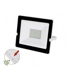 LED SMD Λευκός Προβολέας με Φωτοκύτταρο Ημέρας - Νύχτας 50W 120° 4000K (3-030501)