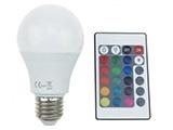 RGBW LED E14 - E27 - GU10