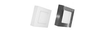 Led Panel Τετράγωνα (Επιτοίχια)